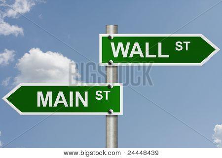 Wall Street And Main Street