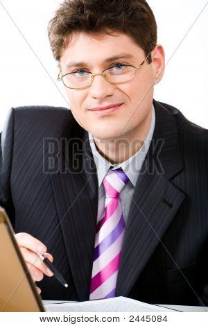 lächelnd boss