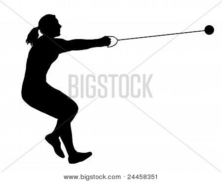 Ladies Hammer Thrower