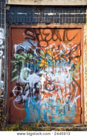 The Graffiti Door