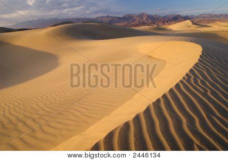 Sand Dunes Death Valley