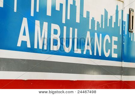 An ambulance concepts of emergency ambulatory care