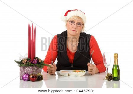 Caucasian Middle Aged Woman, Loneliness