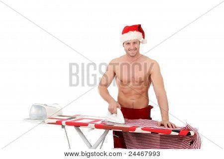 Sexy Young Man, Santa Claus