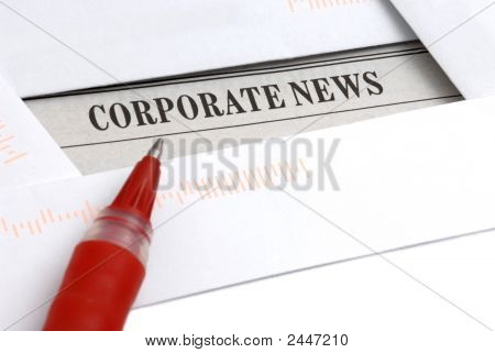 Noticias Corporativas en periódico