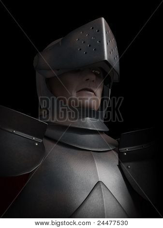 Battle Scarred Knight-Portrait