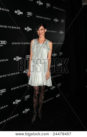 LOS ANGELES - OCT 18:  Perrey Reeves arriving at the PS Arts 20th Anniversary Event at the Sunset Tower Hotel on October 18, 2011 in West Hollywood, CA