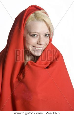 Red Shawl Portrait