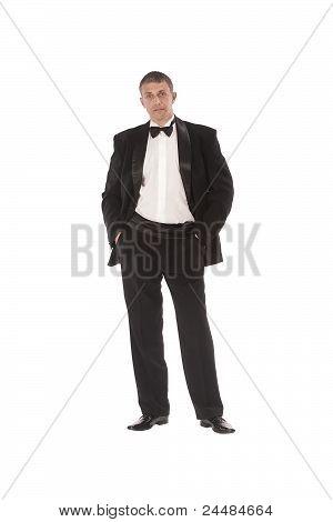The celebratory imposing man