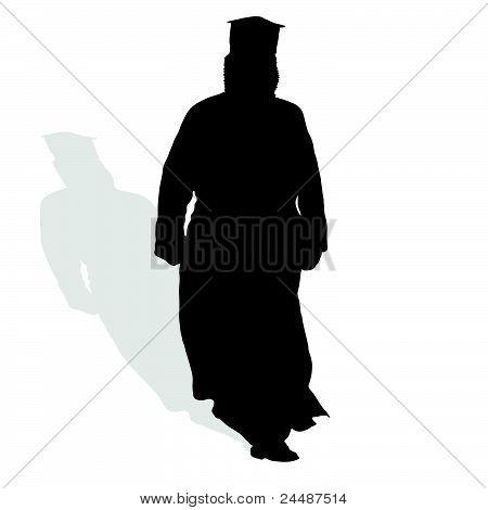 Priest Silhouette