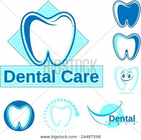 Dental design clipart