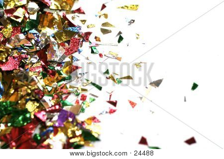 Confetti - Border, Room For Text