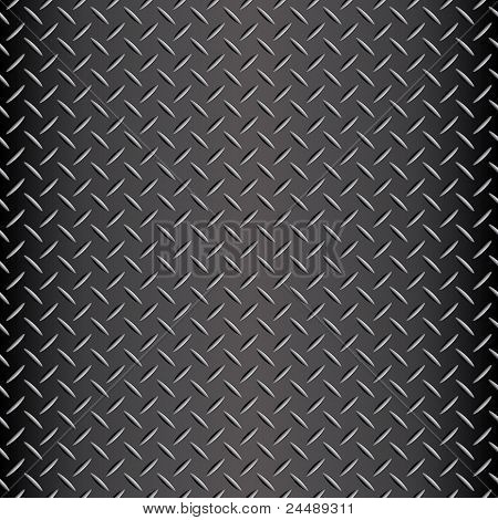 Seamless diamond plate vector