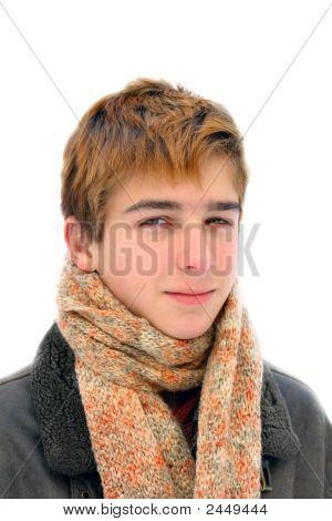 Winter Teenager Portrait