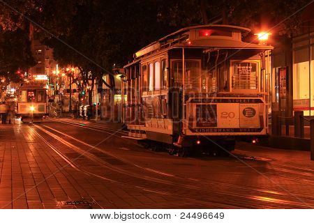 Cable Car Night