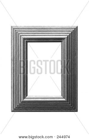 Gold Leaf Frame Bw