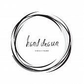Hand Drawn Circle poster