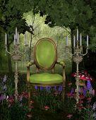 Постер, плакат: Фея трон