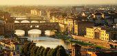 Ponte Vecchio Bridge In Florence - Italy poster