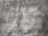 Texture Of Rough Putty On The Wall. Grunge Background. poster