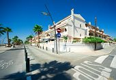 foto of ibanez  - View of Costa Blanca street Province of Alicante in Spain - JPG