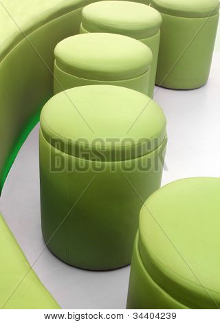 Photo Of Modern, Comfortable, Cushy And Stylish Stools For Meeting Rooms At Office Or Living Rooms A