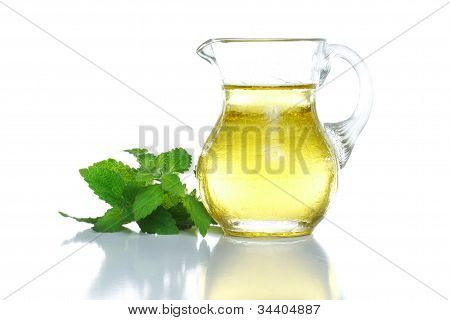 Cooking Oil In Glass Container