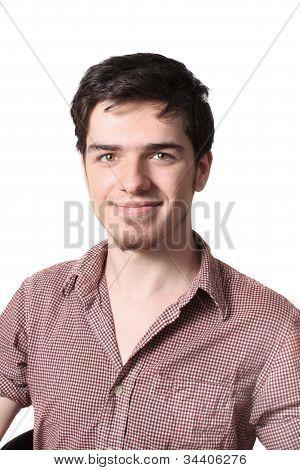 Portrait Of Handsome Teenager