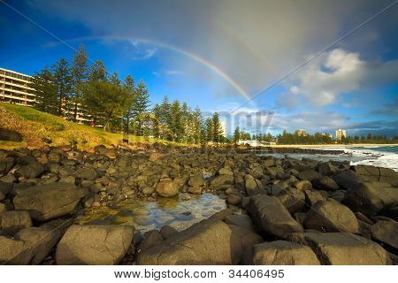 Rainbow Over Burleigh Heads