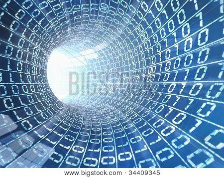 Concepto de Cable de Internet