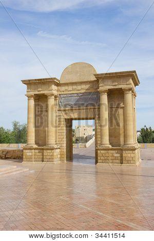 Bridge gate, Cordoba, Andalusia, Spain