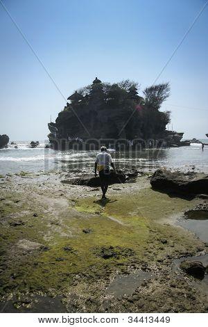 Mar templo Tanah Lot Bali