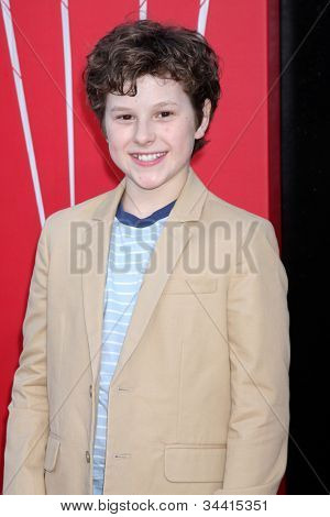 LOS ANGELES - JUN 28:  Nolan Gould arrives at the