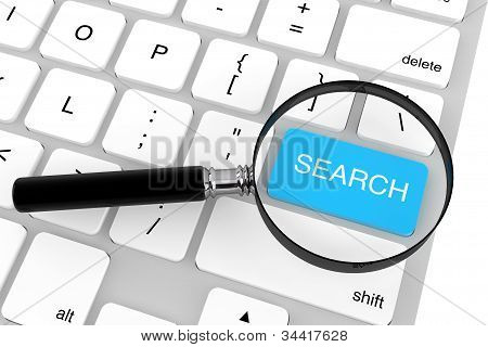Magnifier With Search Key