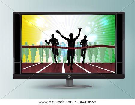 Ilustração de esporte