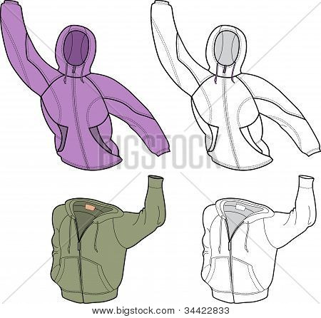 Men Jackets  Front View