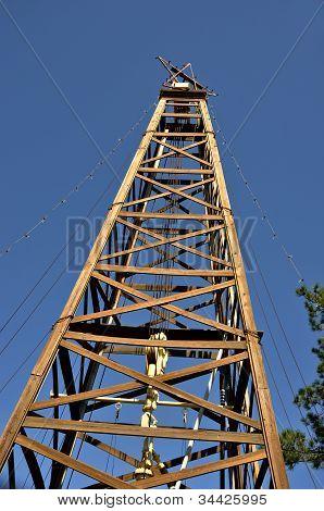 Old Oil Derreck In Kilgore Texas
