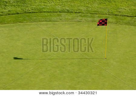 Putting Green and Flag