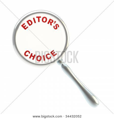 Editor's choice under the magnifier