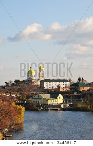 Church of St. Mary Magdalene, XVIII century. City of Bila Tserkva. Ukraine, Kiev region. Ros River