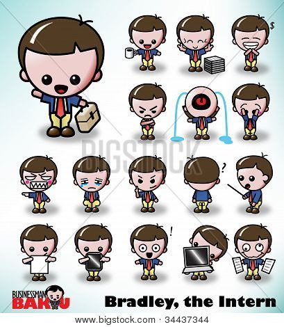 Bradley the Intern - Businessman Baku