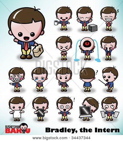 Bradley the Intern - Businessman Baku