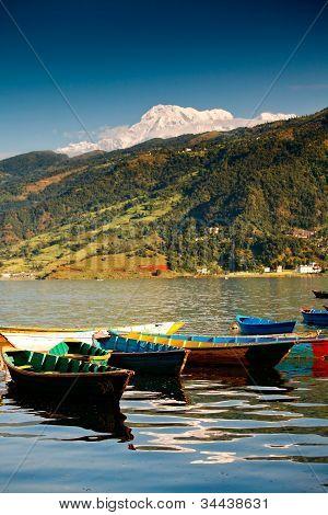 Lake In Pokhara