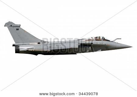Fighter Jet Isolated