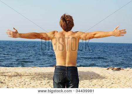 Man's Back On The Beach, Freedom, Success
