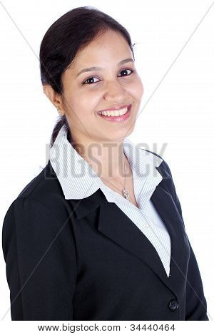 Happy Indian Business Woman
