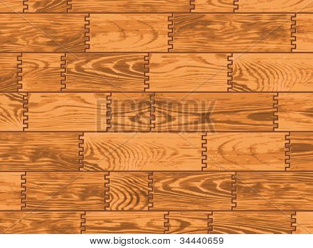 Wooden Background. Vector.