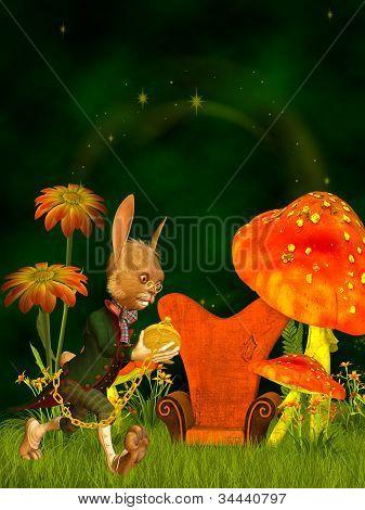 March Hare, Wonderland