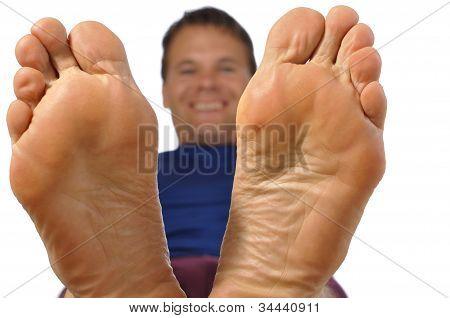 Pies descalzos
