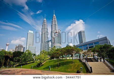 Kuala Lumpur's skyscraper
